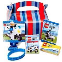 LEGO City Party Favor Box -