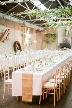 London Summer Wedding at MC Motors Simple Wedding Centerpieces, Wedding Venue Decorations, Wedding Decor, Wedding Ideas, Rustic Wedding, Wedding Stuff, Wedding Flowers, London Bride, London Wedding