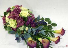 Stroik na grób,kompozycja nagrobna Ikebana, Funeral, Flower Arrangements, Diy And Crafts, Succulents, Floral Wreath, Wreaths, Seasons, Flowers