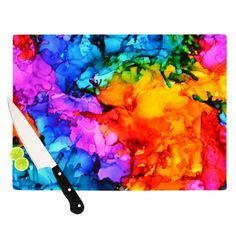 """Claire Day """"Sweet Sour II"""" Cutting Board from KESS InHouse"""