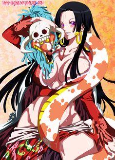 Boa Hancock semi-hot by eikens.deviantart.com on @DeviantArt - More Fanart at…