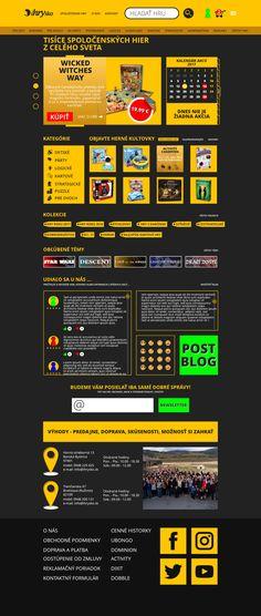 Redesign e-shop (desktop version)