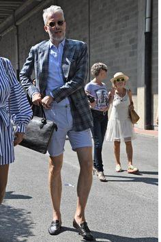ショートパンツ メンズ 着こなし特集 | 男前研究所 Silver Age, Mens Fashion, Fashion Outfits, Gentleman, Hipster, Street Style, Style Inspiration, Man Shorts, My Style