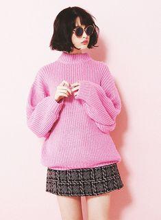玉城ティナのカラー×スウィートな私服コーデを公開!|NET ViVi|講談社『ViVi』オフィシャルサイト
