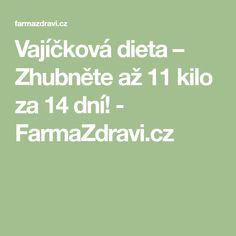 Vajíčková dieta – Zhubněte až 11 kilo za 14 dní! - FarmaZdravi.cz Kili, Lose Weight, Math Equations, Food, Piano Man, Syrup, Essen, Meals, Yemek