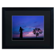 Play for Me by Philippe Sainte-Laudy Matted Framed Photographic Print