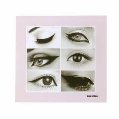 1Set Pro Makeup New Style Cat Eye Fish Tail Double Wing Eyeliner Stencil Eyeliner Stencil Models Template Shaper Tool