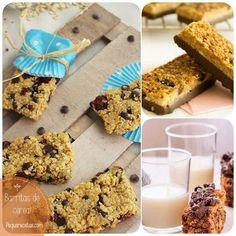 Recetas de barritas de cereal Deli Food, Empanadas, Recipies, Food And Drink, Healthy Recipes, Healthy Food, Yummy Food, Snacks, Cooking