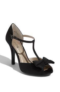 Omg. A bow and a t-strap. Hate the peep toe, but for $35 I could deal.