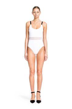 75720b5cc95 BETH RICHARDS AGNES ONE PIECE - WHITE. #bethrichards #cloth # Beachwear,  Swimwear