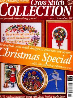 Gallery.ru / Photo # 1 - 43 - crostitchcollection Cross Stitch Magazines, Cross Stitch Books, Cross Stitch Kits, Cross Stitch Designs, Cross Stitch Patterns, Christmas Cross, Christmas Fun, Cross Stitch Collection, Crafts