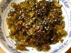 ご飯が止まらない♡高菜の油炒めの画像
