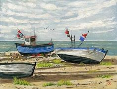 <strong>Boats at Aldeburgh</strong>
