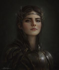 (Irene): Although she is young, she has had greatness thrust upon her. Orphaned at a young age, she is seen in several high standing positions. She is controlled and hard working. She is distant and can be calculating and cold. Skilled in hand to hand combat, she pushes herself to her breaking point and at times threatens to go over.