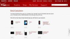 Verizon Offers Complicated Data Usage Calculator http://www.resourcesforlife.com/docs/item7669