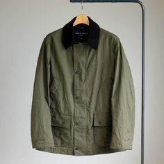 COMME des GARCONS HOMME - Cotton Wax Weather Cloth Field Jkt #khaki 「着楽(チャクラ/ciacura)」 三重県四日市市で洋服と器を販売