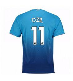 Billiga Arsenal Mesut Ozil 11 Bortatröja 17-18 Kortärmad Ozil Mesut, Arsenal Fc, Sports, Tops, Fashion, T Shirts, Moda, La Mode, Sport