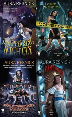 Esther Diamond Series by Laura Resnick  These are SO funny.