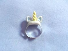 Kawaii Unicorn Ring Unicorn Horn Ring by MizziexoxoBoutique (from poppy again)