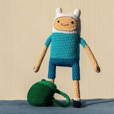 Finn (Adventure Time) amigurumi pattern by AradiyaToys
