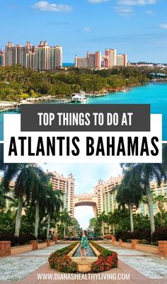 The best things to do in Atlantis, Bahamas! From the thrilling waterpark to the relaxing spa, there is no shortage of amazing activities on Paradise Island. Bahamas Resorts, Bahamas Vacation, Atlantis Bahamas, Travel Usa, Travel Tips, Travel Abroad, Travel Advice, Travel Guides, Places To Travel