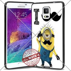 New Samsung Galaxy Note4 Case Minion I Mustache you a question Cool Cell Phone Case Shock-Absorbing TPU Cases Durable Bumper Cover Frame Black Lucky_case26 http://www.amazon.com/dp/B018KOQ9OI/ref=cm_sw_r_pi_dp_ToMxwb0KCR6Q1