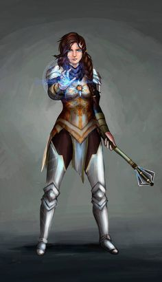 Dungeons And Dragons Characters, D&d Dungeons And Dragons, Dnd Characters, Fantasy Characters, Female Characters, Paladin, Dnd Cleric, Fantasy Character Design, Character Inspiration