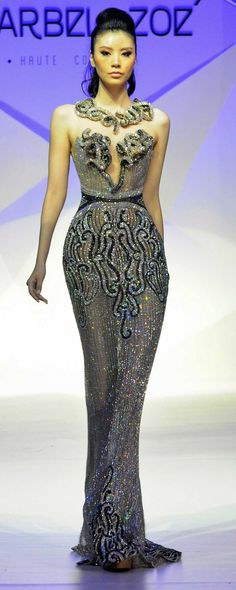 Charbel Zoe Spring-summer 2014 - Couture - http://www.orientpalms.com/charbel-zoe-4261
