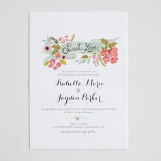 wedding invitations | the wedding chicks