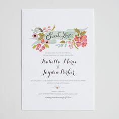 the audrey invitation suite   wedding invitations | the wedding chicks