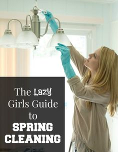 The Lazy Girls Guide to Spring Cleaning w/ printable checklist #springclean16 #sponsored #walmart