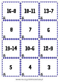 Gry matematyczne Ja mam Kto ma? Domino Memory Memories, Education, Games, Fun, Child, Crafts, Teaching Ideas, Mathematics, Memoirs