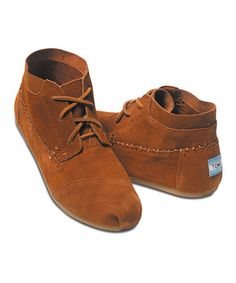 Chestnut Suede Tribal Boot