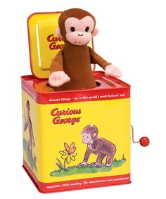 My son will have everything Curious George...