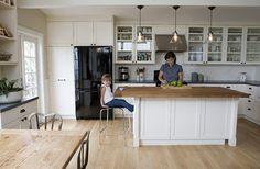 FLOOR COLOR? farmhouse kitchen - traditional - kitchen - san francisco - Boor Bridges Architecture