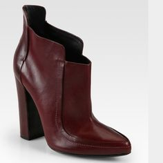 """Alexander Wang Kim runway ankle boot in burgundy Kim runway booties in burgundy, heel 4.5"""" Alexander Wang Shoes Ankle Boots & Booties"""