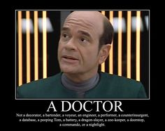 Voyager - The Doctor  What I am NOT  #ussvoyager  #startrek  #emh