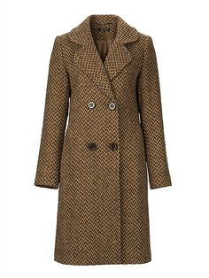 Brown is the colour of the season and with this coat you will be perfectly dressed Get The Look, Must Haves, Latest Trends, Autumn Fashion, Seasons, Colour, Brown, Coat, Stuff To Buy