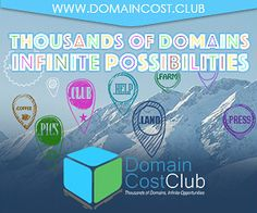 Domain Cost Club tausende Domains, unendliche Möglichkeiten http://www.domain-cost-club.net