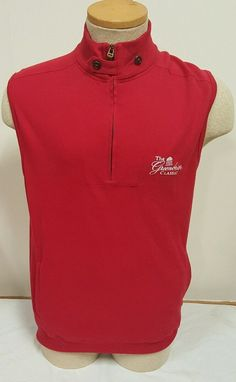 Ralph Lauren Polo Golf Men's Vest The Greenbrier Classic Red Size Small S | eBay