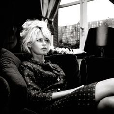 Brigitte Bardot -- WHAT is she wearing?!!! LOVE