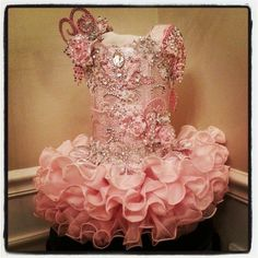 Custom Glitz pageant dresses, babydoll, face dress, casual wears