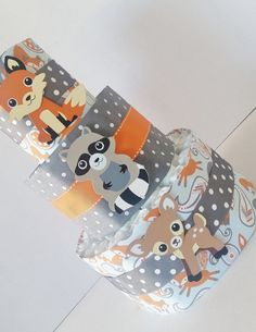 Woodland Animals Diaper Cake Table by LilLoveBugsCreations on Etsy