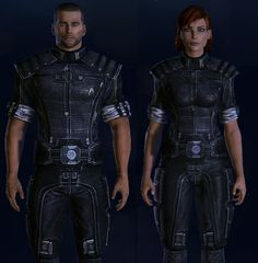 Mass Effect - No Combat Uniform