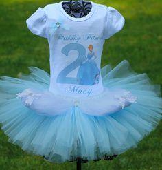 Cinderella Tutu Cinderella Birthday Outfit by TwistinTwirlinTutus, $49.99