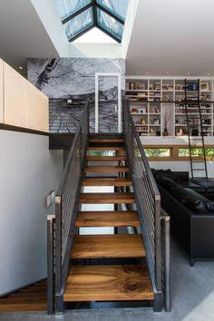 1 Wren Residence - contemporary - Staircase - Other Metro - Chris Pardo Design - Elemental Architecture Amazing Architecture, Interior Architecture, Installation Architecture, Stairs Architecture, Floor Design, House Design, Interior Design Minimalist, Interior Modern, Modern Minimalist