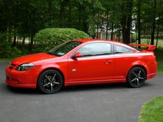 Chevy Cobalt SS black with red accents  My Baby  Pinterest