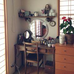 kamasayachanさんの、ドール,ドレッサー,机,のお部屋写真