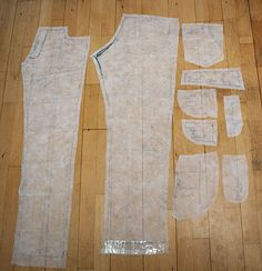 complete jeans pattern