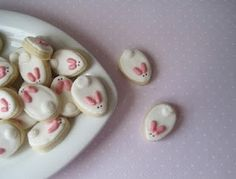 cute bunny biscuits